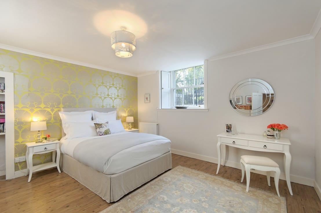 Colores para decorar un dormitorio moderno - Decorar dormitorio blanco ...