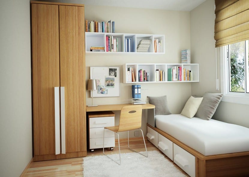 Elige los mejores muebles para una habitación pequeña