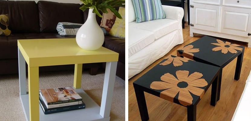 Ideas decorativas con la mesa lack de ikea - Mesa tv ikea lack ...