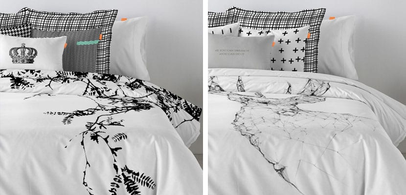 Ropa de cama de estilo nórdico