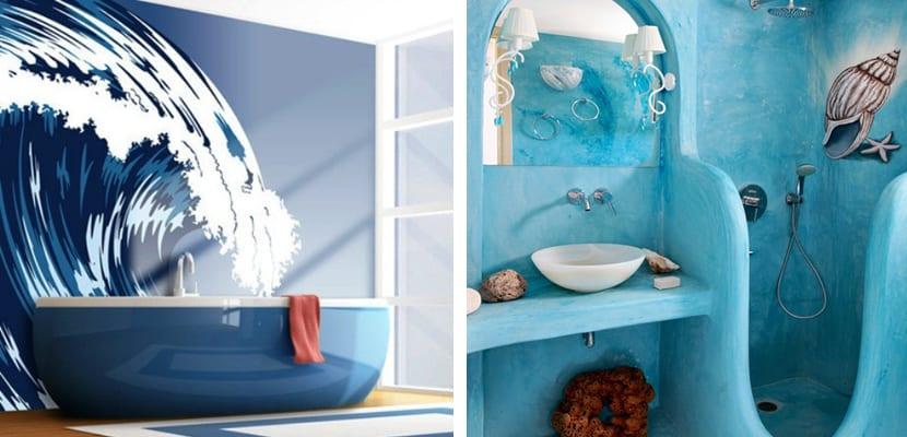 Baños de estilo marinero