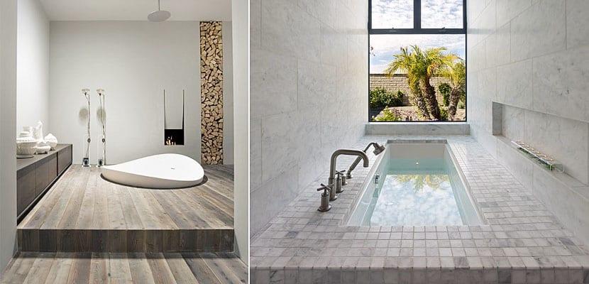 Bañeras encastradas a ras de suelo