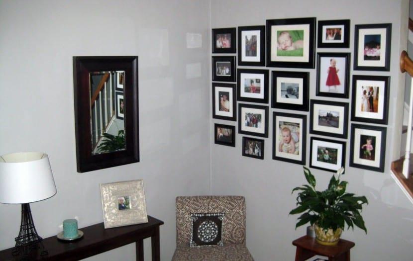 decorar cuadros pared