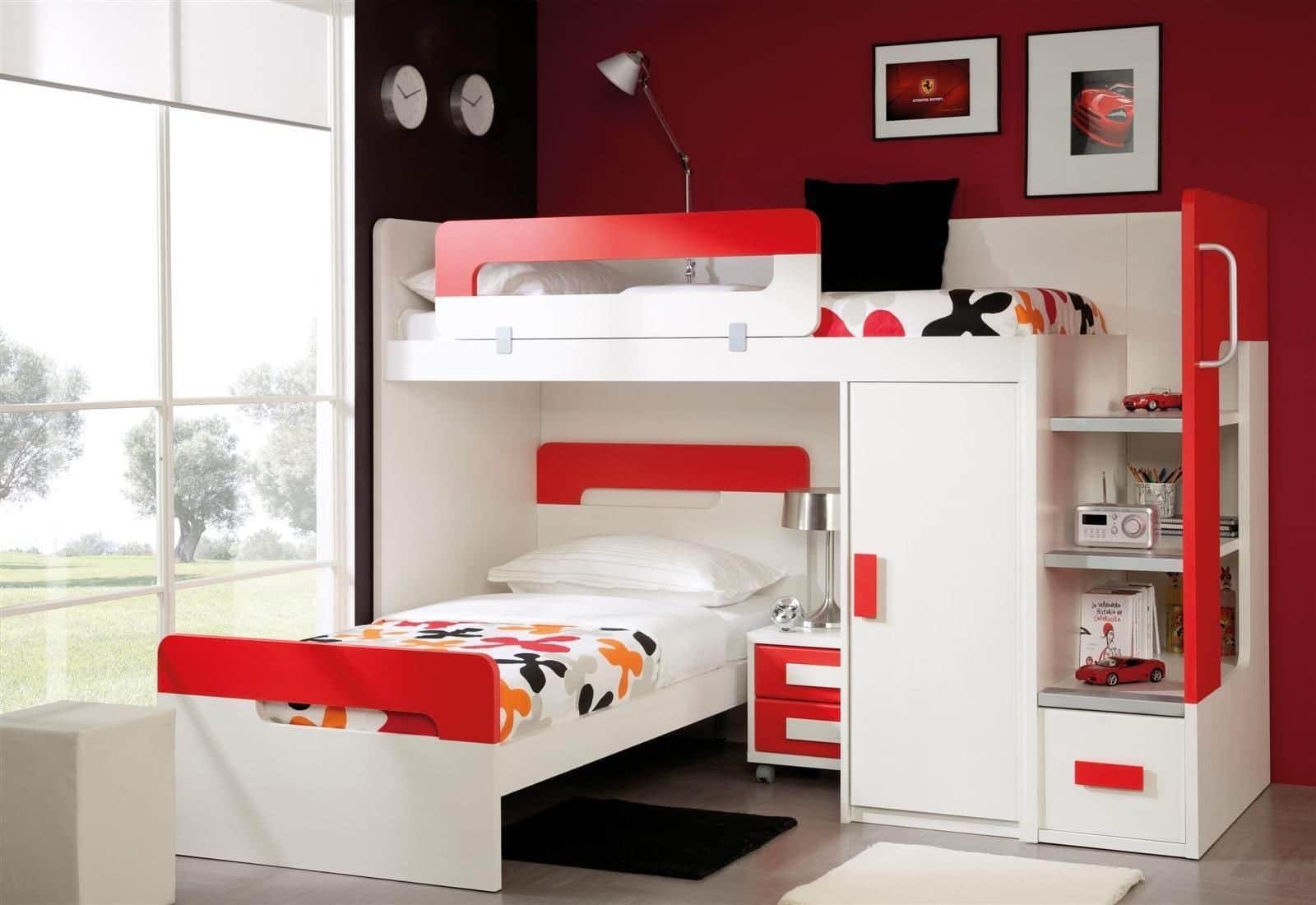 El mejor mobiliario para habitaciones infantiles y juveniles Mobiliario para espacios reducidos