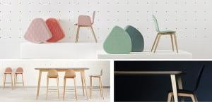Ondarreta: mesas y sillas