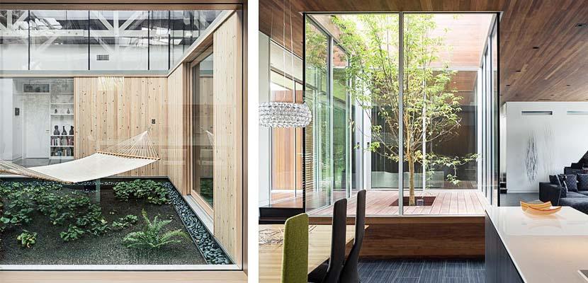 Patios interiores una ventana al exterior - Planos de casas con patio interior ...