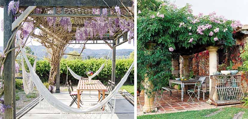 P rgolas cubiertas de flores para tu jard n - Pergolas para jardines ...