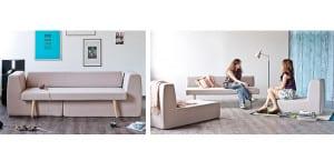 Sofa convertible de Formabilio