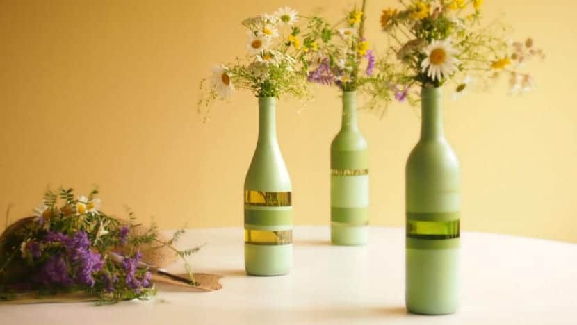 botellas para decorar
