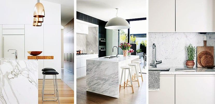 M rmol para revalorizar los espacios for Encimera de marmol precio