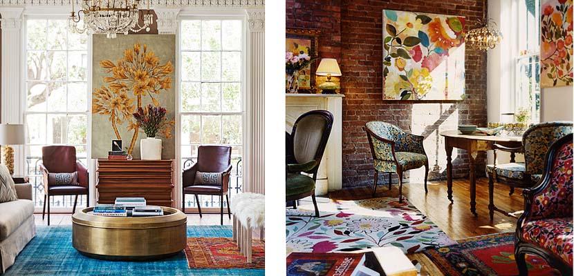 Combinar alfombras