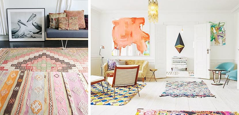 Una habitaci n dos o mas alfombras for Diferentes tipos de alfombras