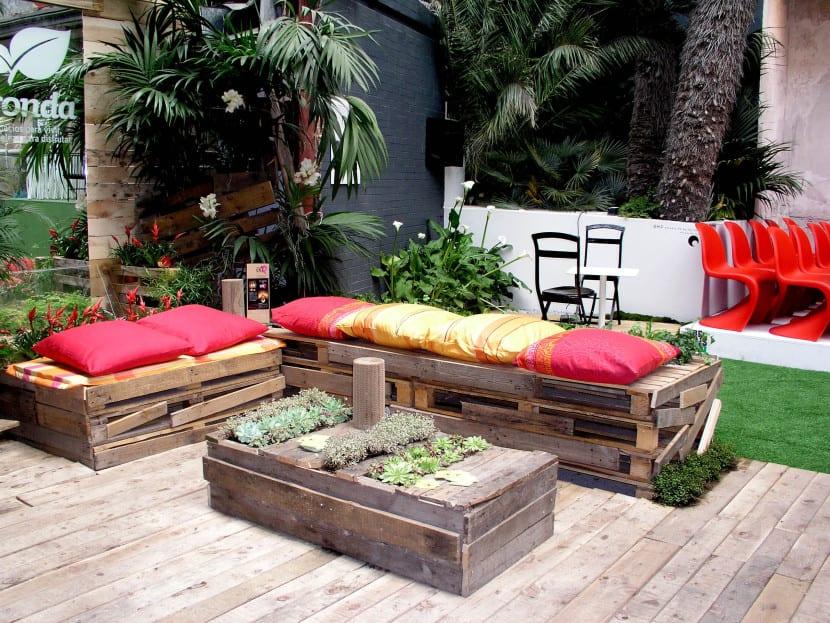 cómo decorar el jardín o la terraza