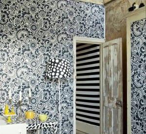 decorar paredes con telas