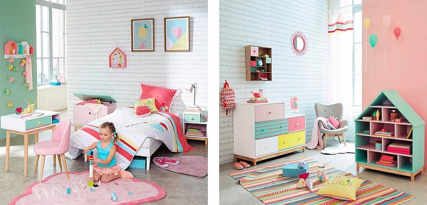 Habitaciones para ni a maisons du monde - Dormitorios infantiles nina ...