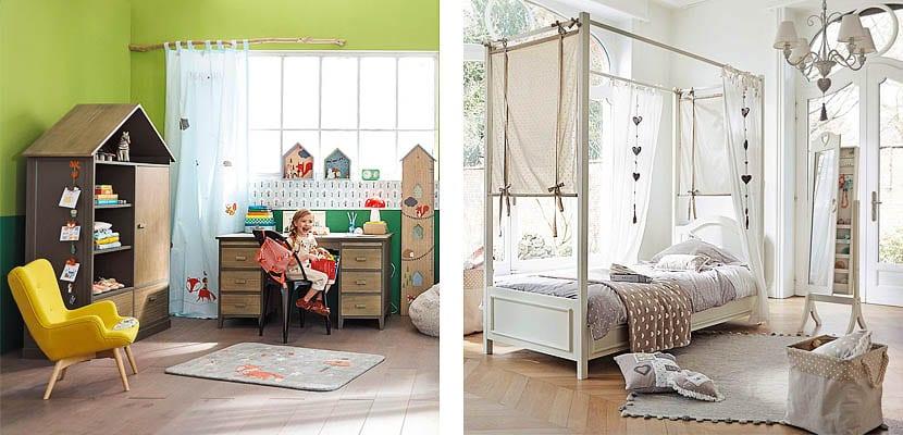 Dormitorios para niña Maisons du Monde