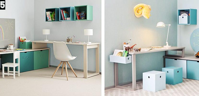 Escritorios para decorar habitaciones infantiles for Escritorio infantil ikea