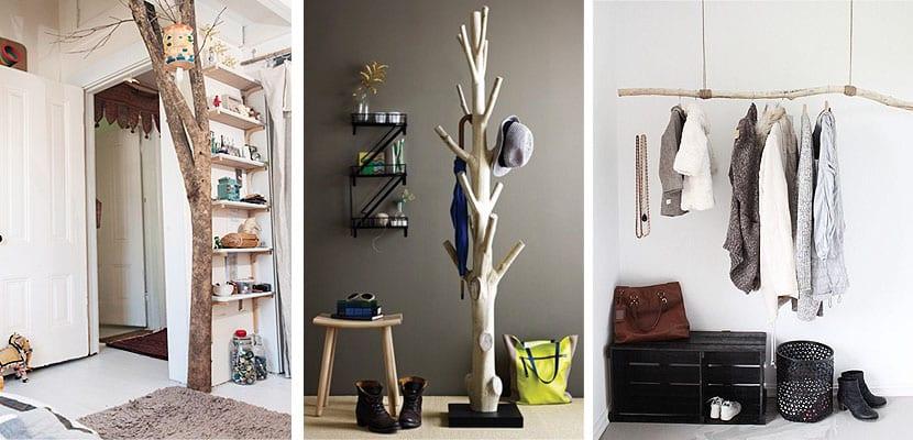 Ramas de árbol decorativas