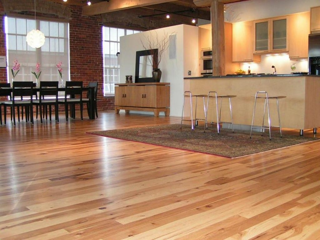 suelos de madera para la cocina