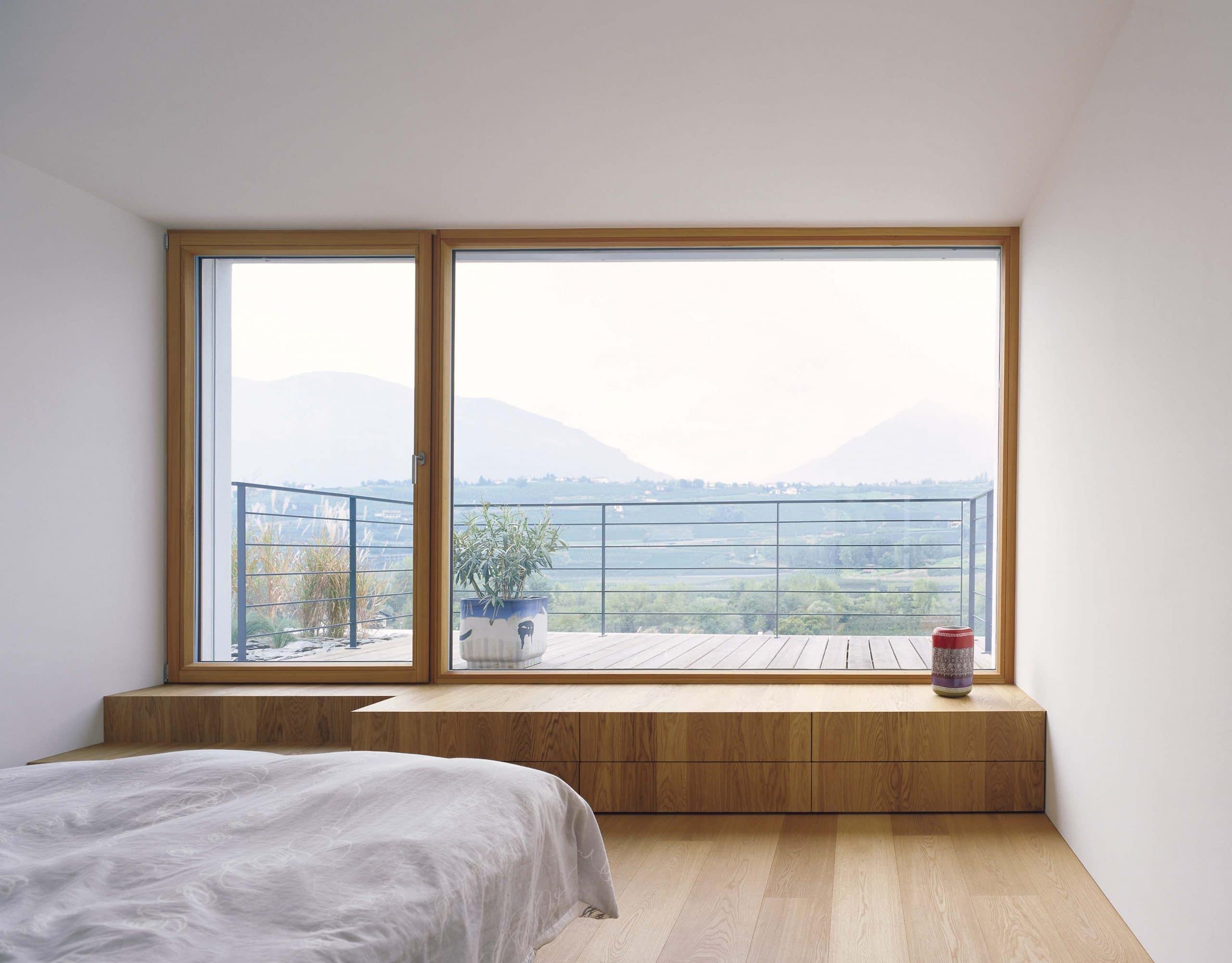 La elegancia de las grandes ventanas - Espacio zen ...