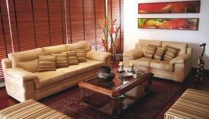 decoración otoñal en casa