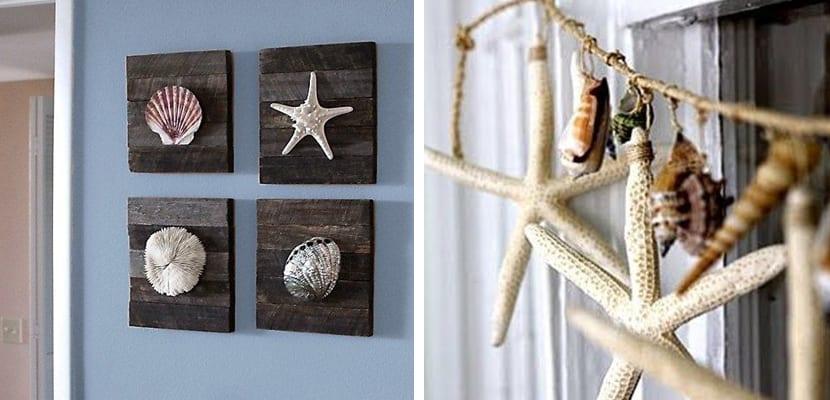 A adir conchas a la decoraci n - Decoracion con conchas ...