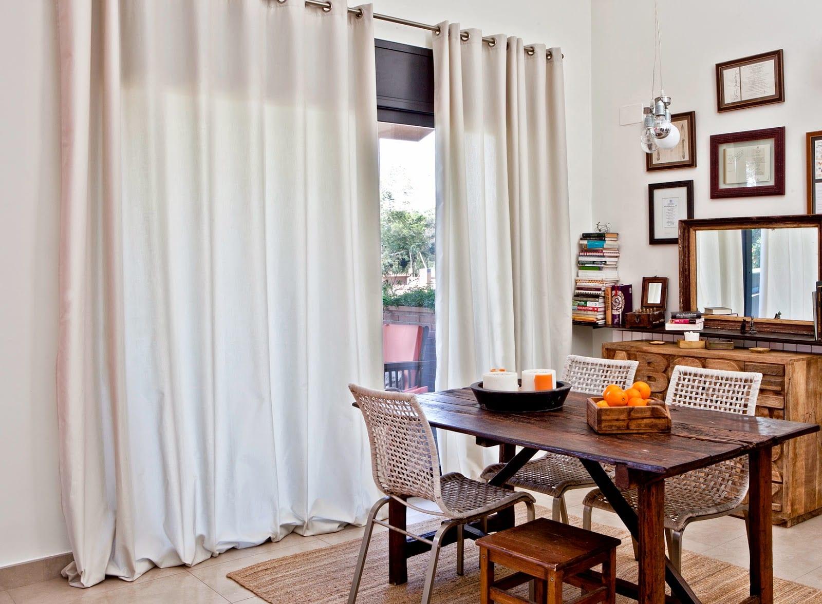 C mo elegir las mejores cortinas para tu sal n - Cortinas para salon estilo moderno ...