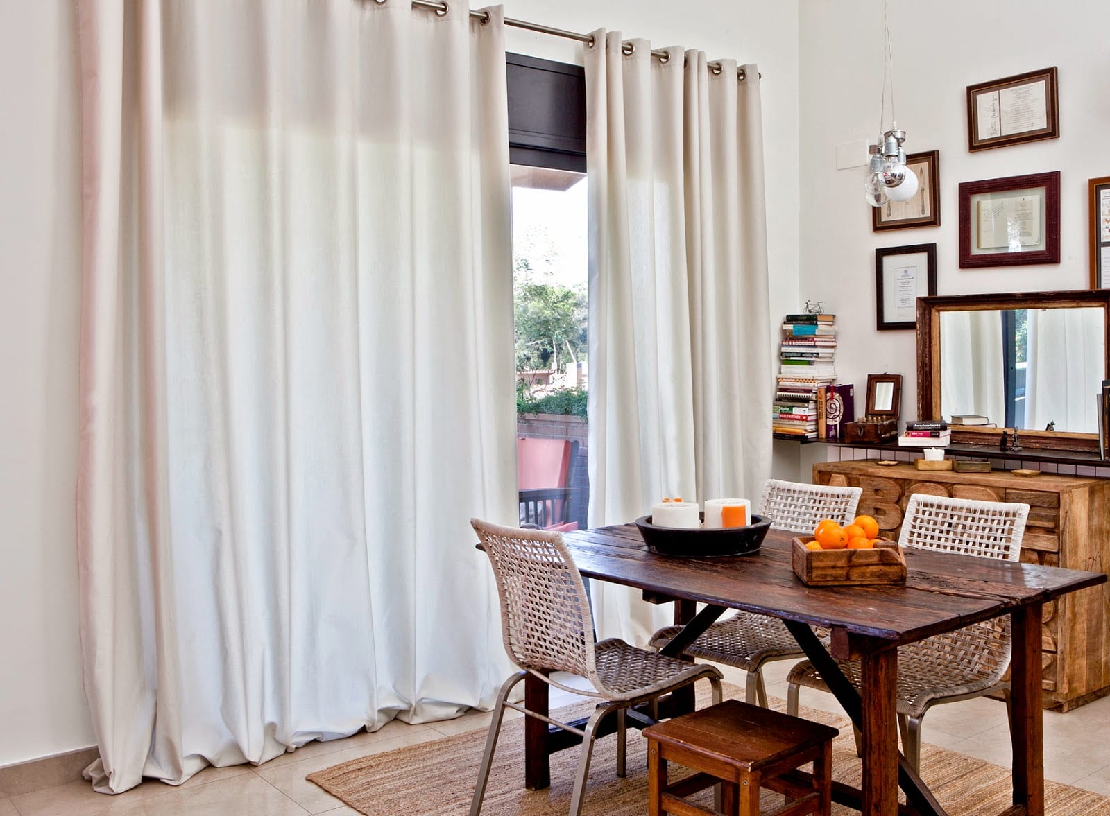 decorar tu salón con cortinas