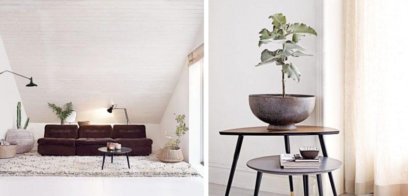 Piso minimalista con toques vintage for Decoracion piso vintage