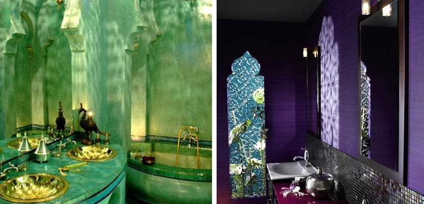 Baño en estilo árabe