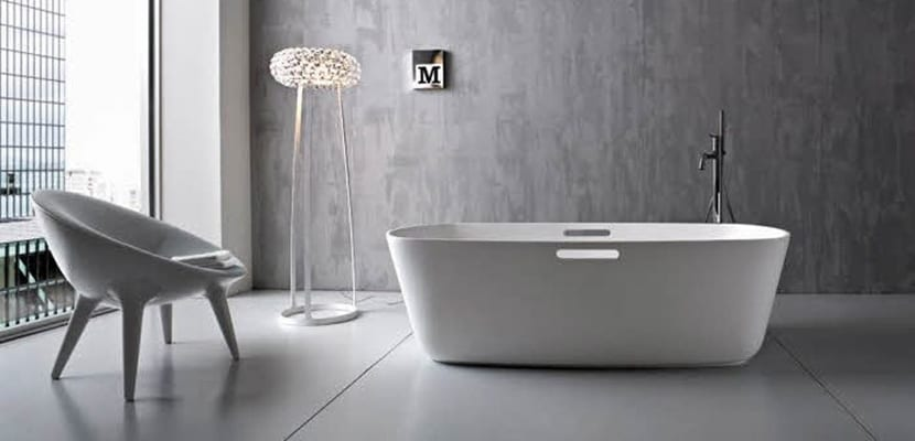 Baños minimalistas