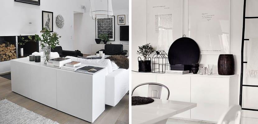 Formas de usar el mueble besta de ikea - Besta wohnzimmer ...