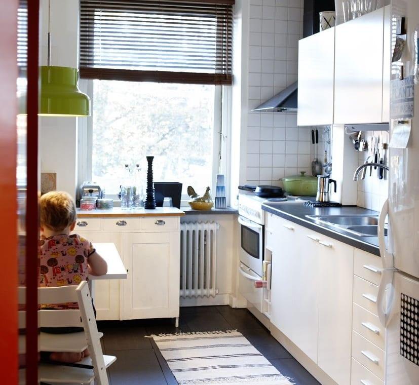 cocina pequeña funcional
