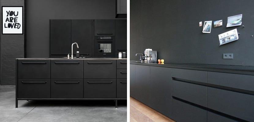 cocinas negras