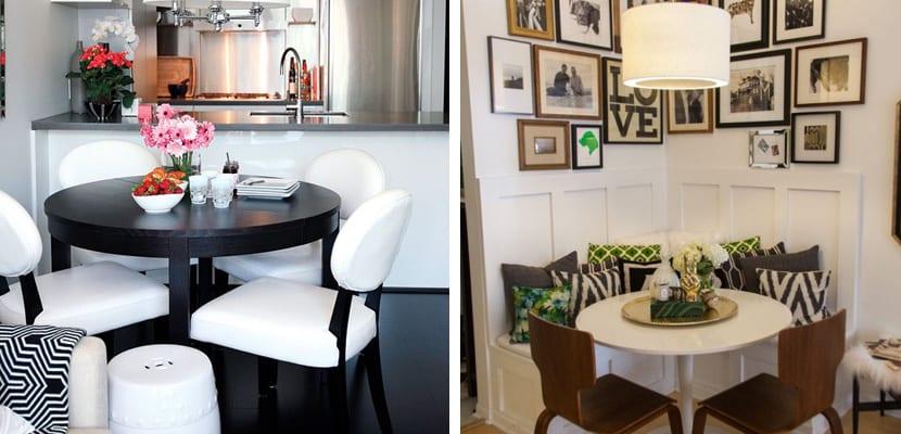 Cómo diseñar un espacio de comedor pequeño
