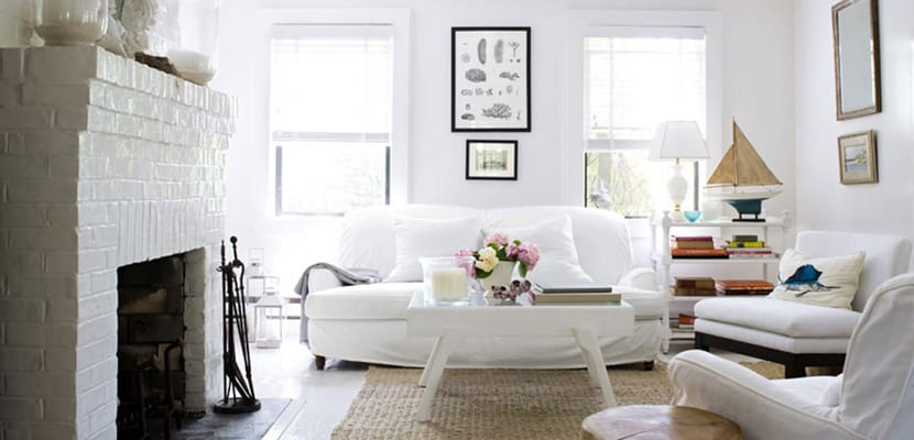 Ventajas de decorar en color blanco