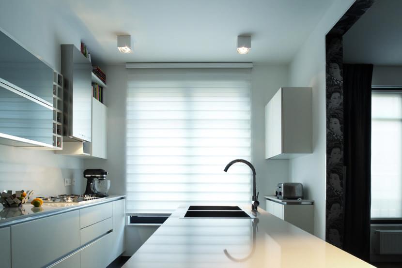 la iluminación en las cocinas