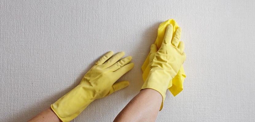 Consejos para limpiar las paredes de casa - Limpiar pintura plastica ...