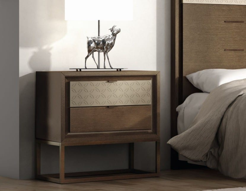 mesita de noche ideal para dormitorio