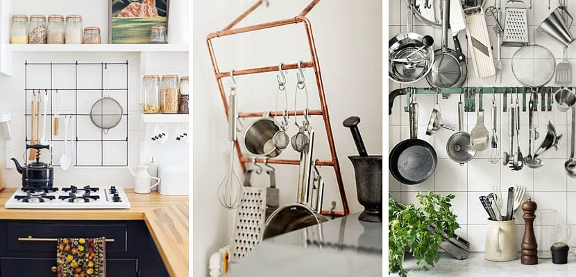Organización de utensilios de cocina