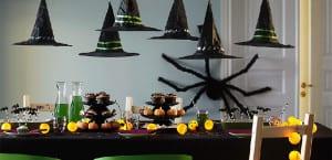 Decorar el salón en Halloween