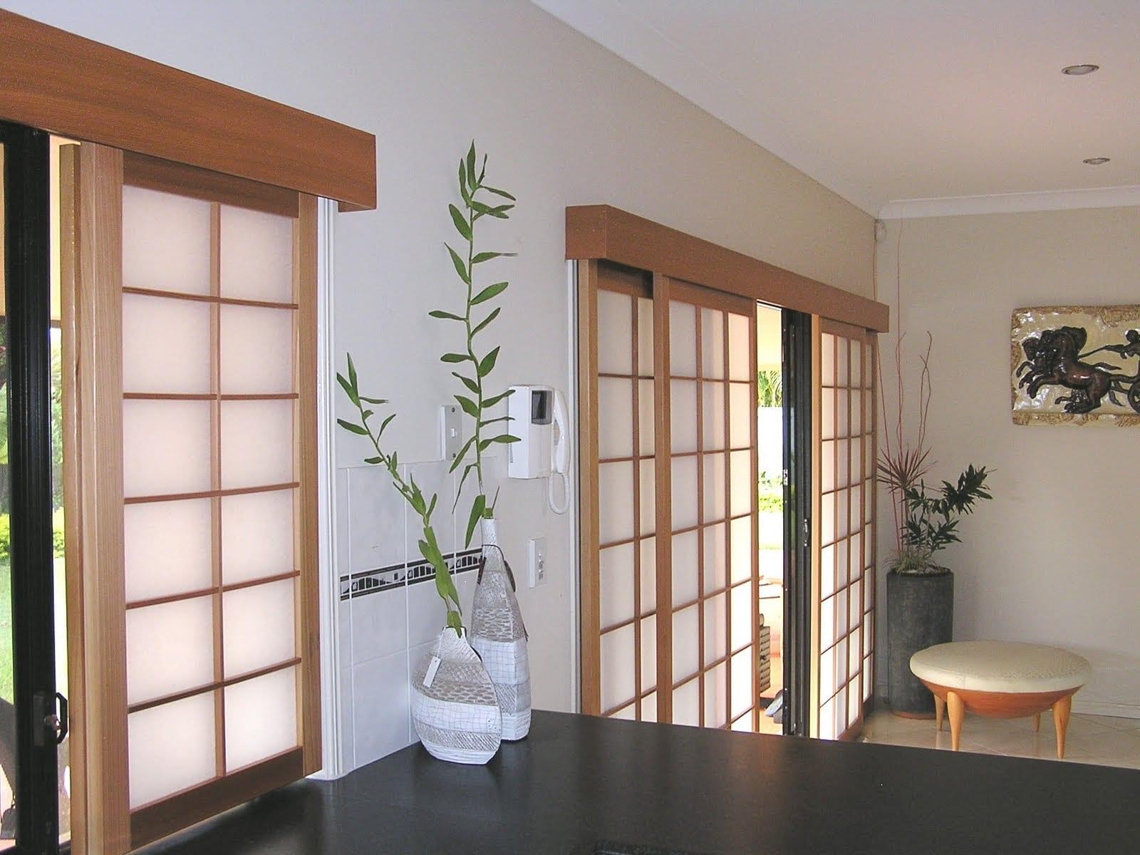 5 muebles b sicos para una decoraci n japonesa - Cortinas para tragaluz ...