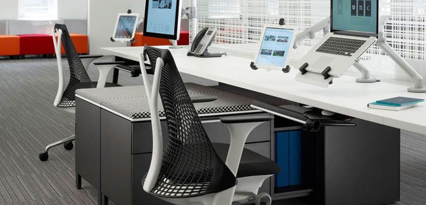 Sillas de dise o para oficinas modernas for Imagenes oficinas modernas