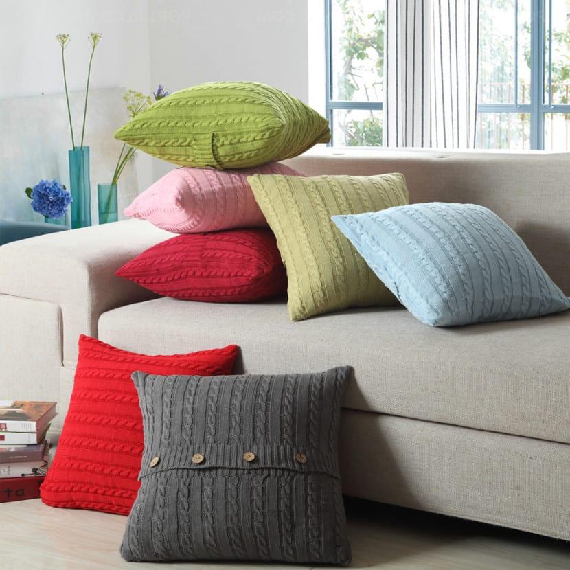 cojines para el sofá