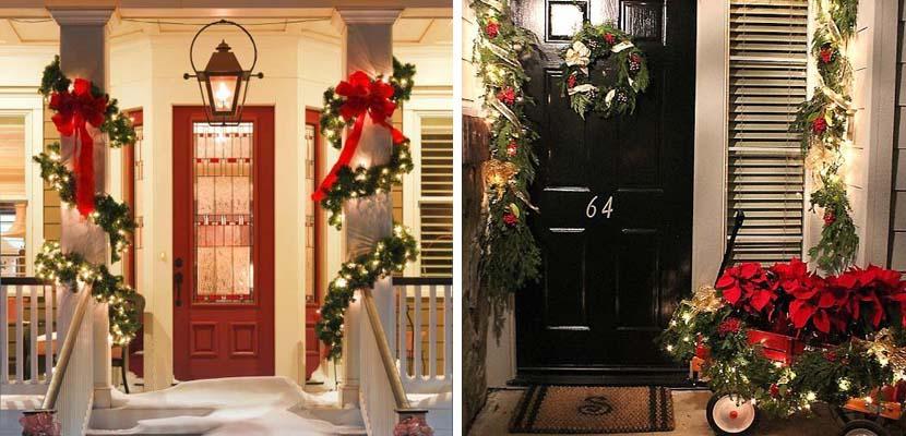 Exterior en Navidad