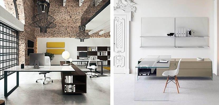Mesas de cristal para decorar la oficina