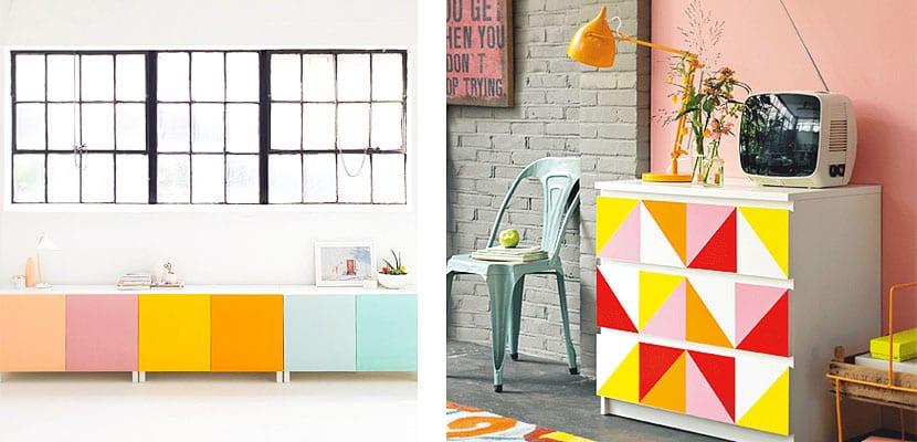 Muebles y accesorios color block para tu hogar for Muebles para decorar tu hogar