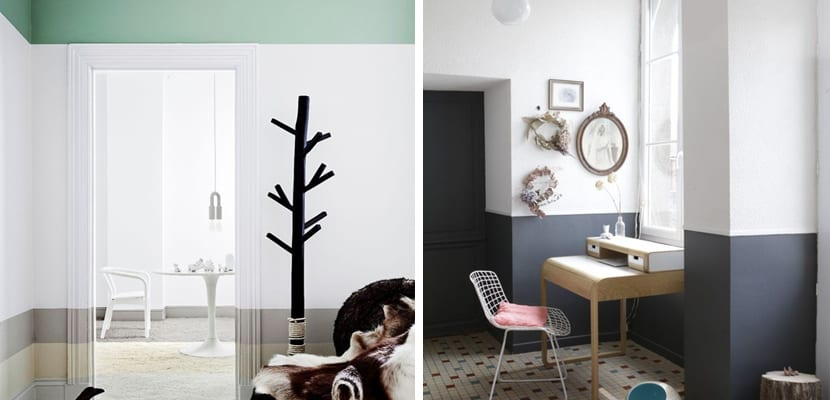 Pintar las paredes de forma original - Formas de pintar paredes ...