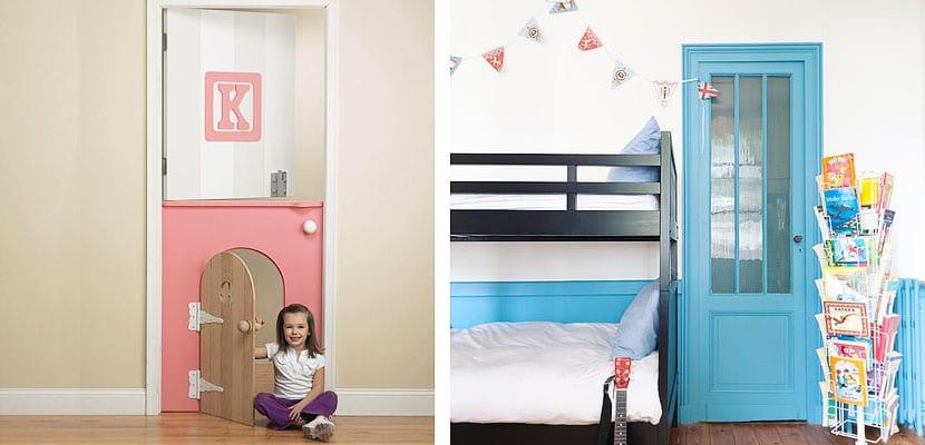 Puerta habitación infantil