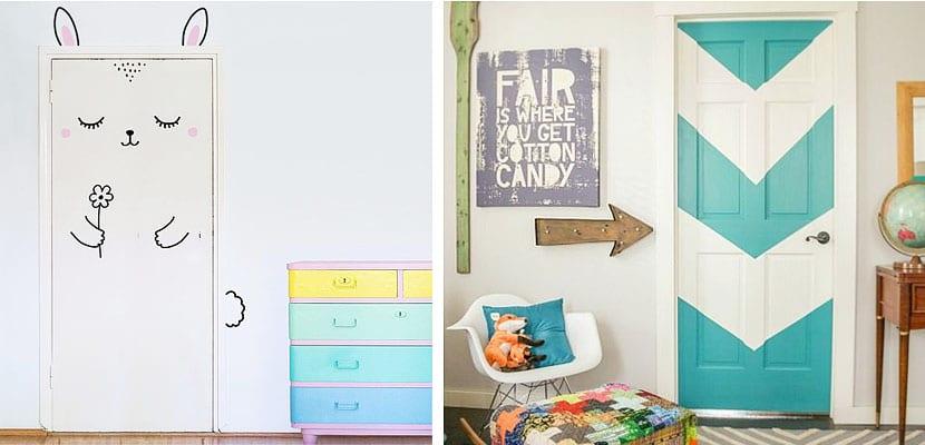 Formas de decorart las puertas infantiles - Decoracion infantil habitacion ...